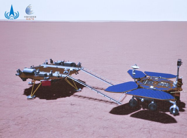 The Zhurong rover