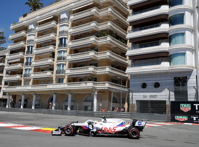 Mick Schumacher crashed out of final practice in Monaco