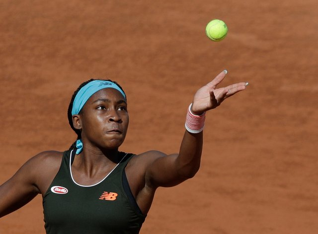 Coco Gauff has been in fine form on clay