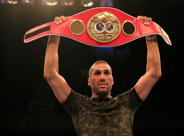 James DeGale became world champion with victory over Andre Dirrell