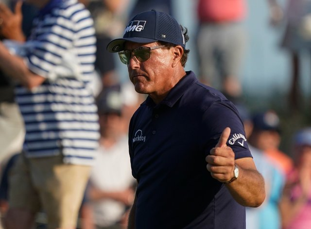 Phil Mickelson won the 103rd US PGA Championship at Kiawah Island
