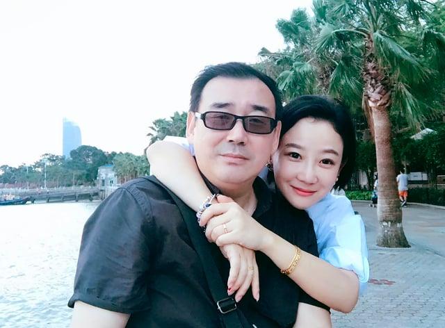 Yang Hengjun and his wife Yuan Xiaoliang