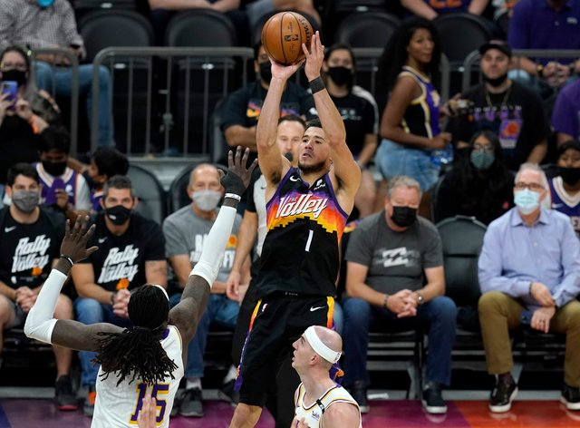 Devin Booker starred for the Phoenix Suns