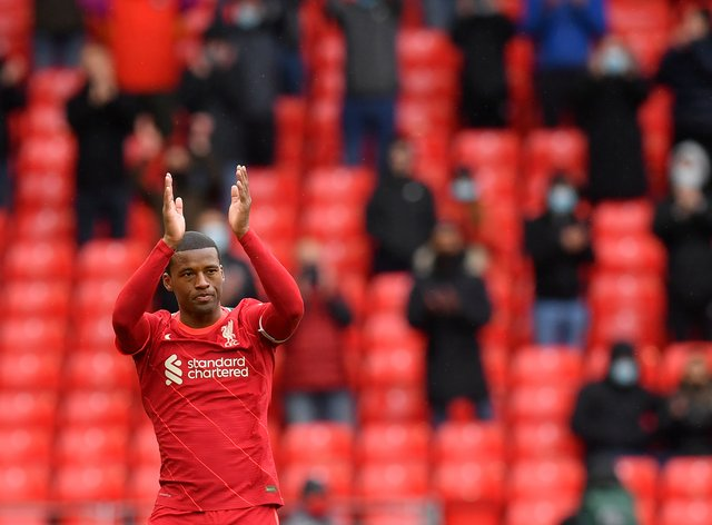 Georginio Wijnaldum's only regret at leaving Liverpool is he did not sign off with a trophy