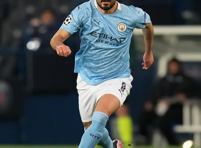 Manchester City's Ilkay Gundogan is fit for the Champions League final