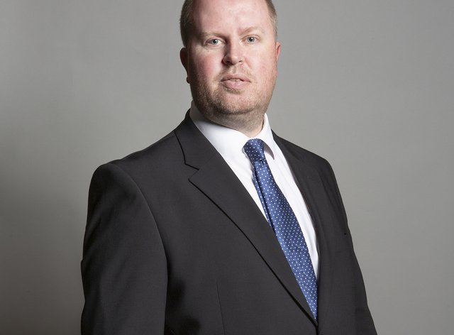 Rob Roberts, Conservative MP for Delyn