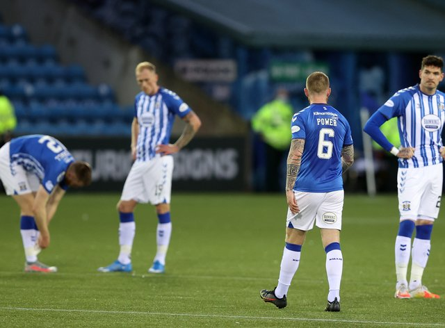 Kilmarnock have been relegated after 28 years in Scotland's top flight