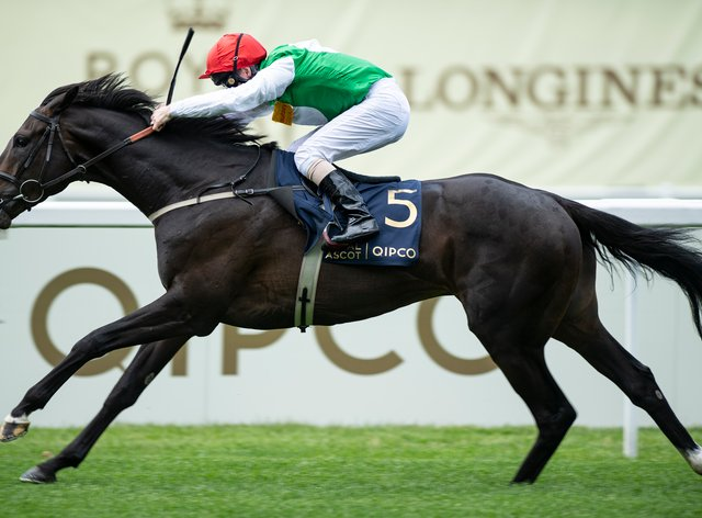 Pyledriver and Martin Dwyer win the King Edward VII Stakes at Royal Ascot