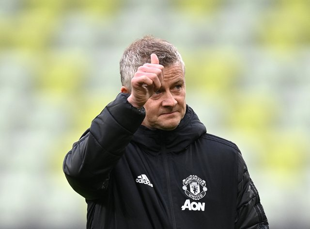 Ole Gunnar Solskjaer hopes the future is bright at Manchester United