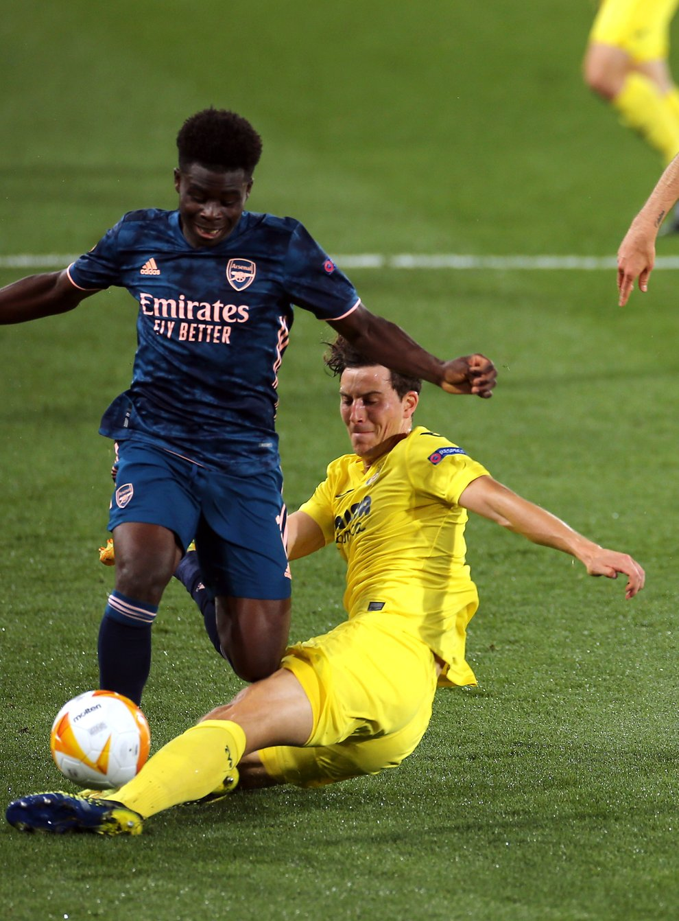 Villarreal's Pau Torres, right, is fully focused on Wednesday night's final