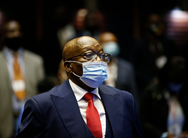 Jacob Zuma in court