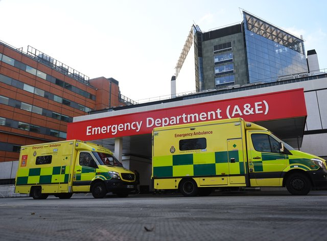 St Thomas' Hospital stock – London