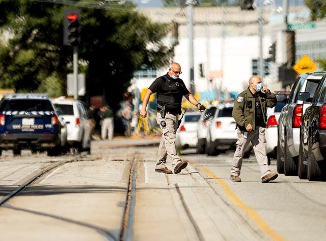 <p>Railyard Shooting California</p>