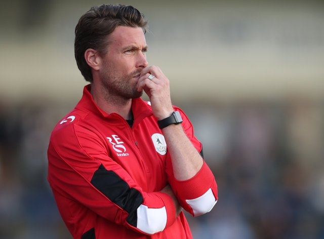 Rob Edwards has previously been in charge at AFC Telford