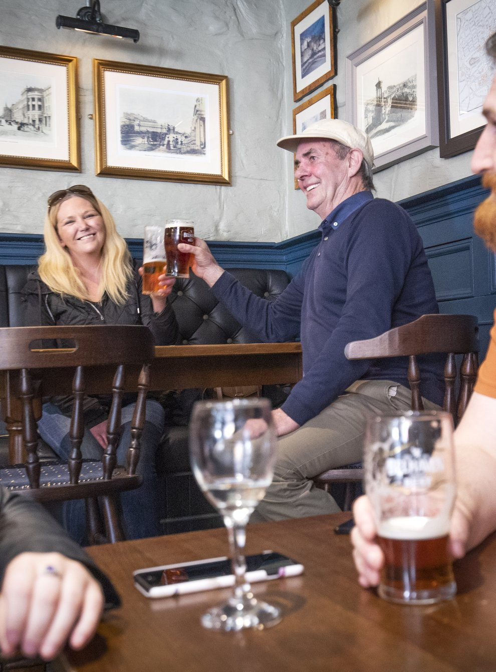 People in a pub