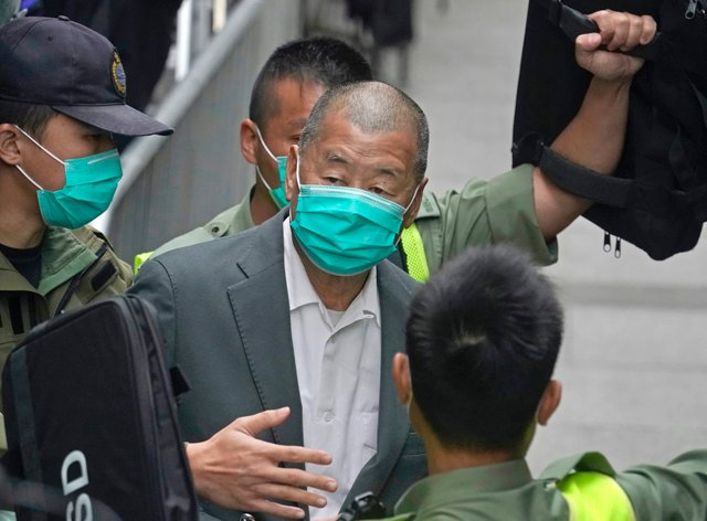 Democracy advocate Jimmy Lai