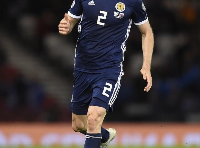 Stephen O'Donnell keen for Scotland Euro progress
