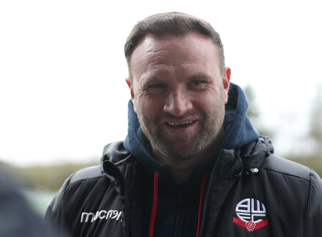 Bolton manager Ian Evatt guided the club to third in the Sky Bet League Two table