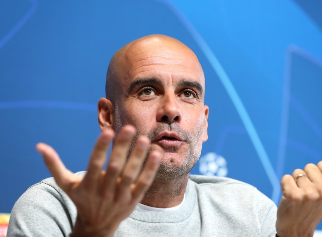 Pep Guardiola accepts Manchester City will have to suffer to win the Champions League final