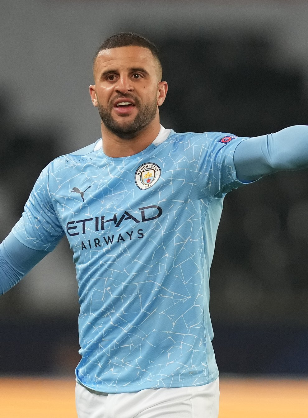 Kyle Walker is relishing his first taste of the Champions League final