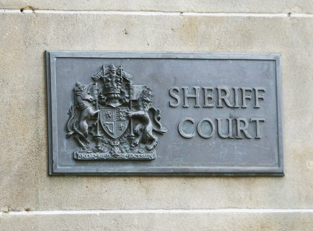 Sheriff court sign