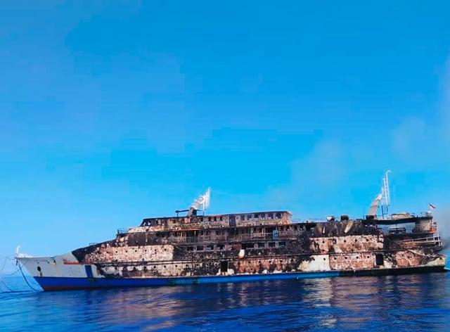Indonesia ferry blaze