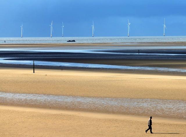 <p>Formby Beach, Merseyside</p>