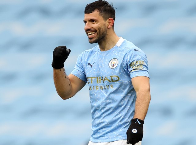 Sergio Aguero is on his way to Barcelona