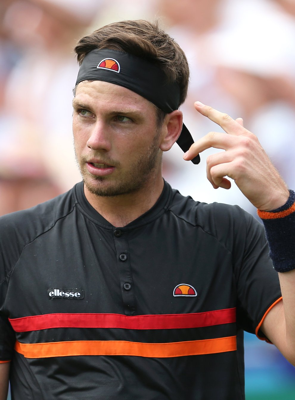 Cameron Norrie continued his good form on clay