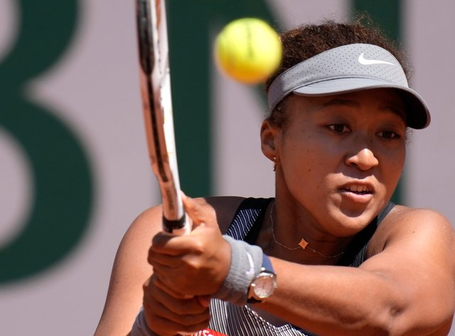 Naomi Osaka withdrew from the French Open ahead of her second-round match