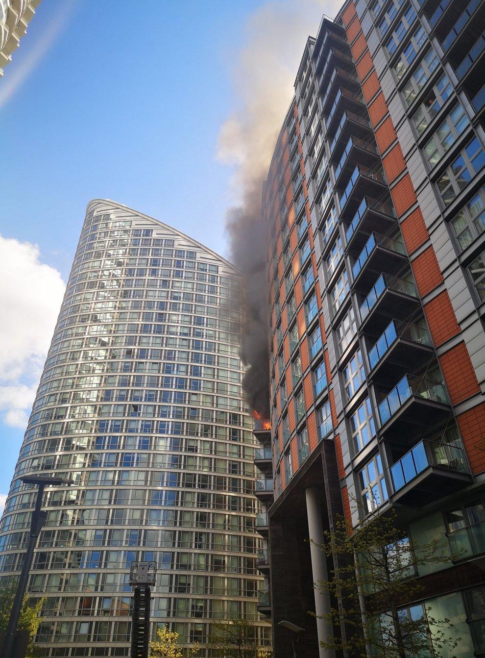 Canary Wharf fire