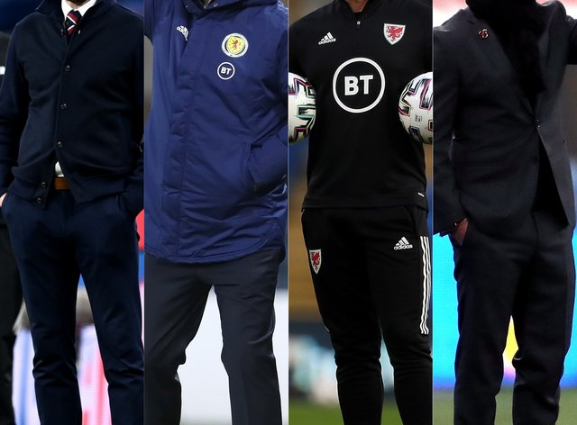 Gareth Southgate, Steve Clarke, Robert Page and Joachim Low are gearing up for friendlies this week