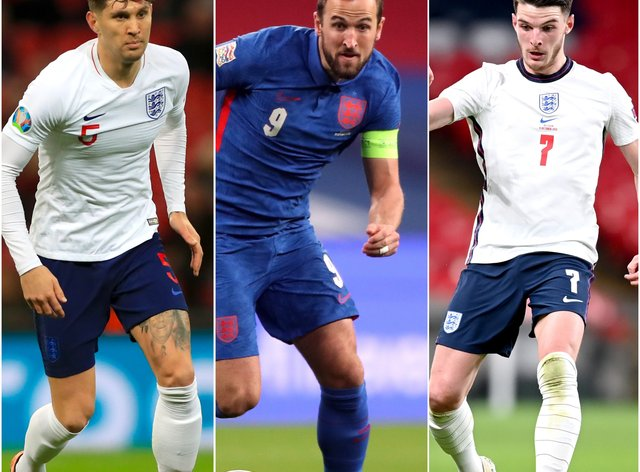 John Stones, Harry Kane and Declan Rice will all be aiming to start England's Euro 2020 campaign with a bang.