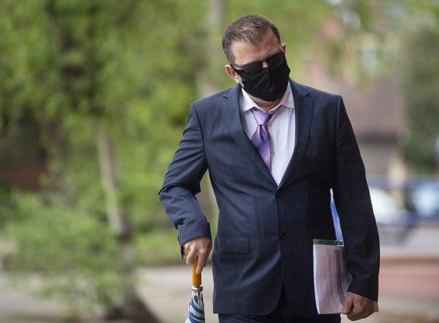 Unal Gokbulut arrives at Ipswich Magistrates' Court