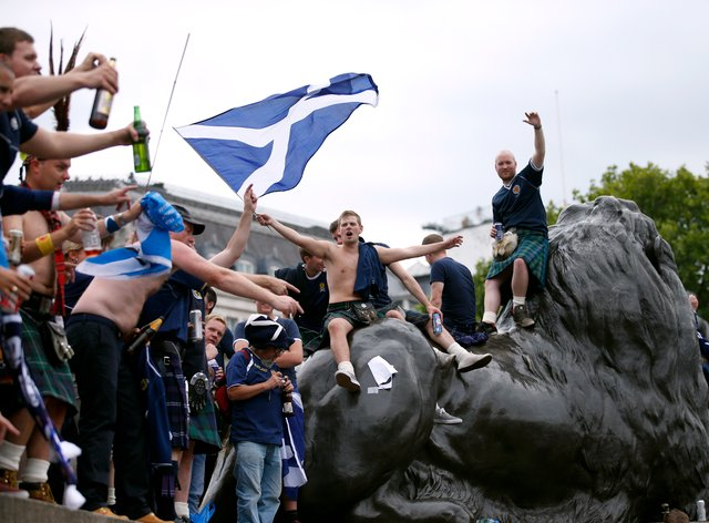 Scottish football fans