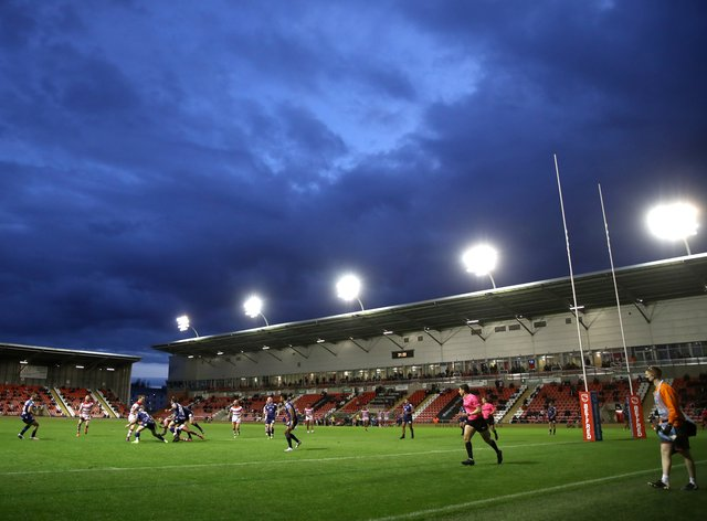 A view of Leigh Centurions' Leigh Sports Village