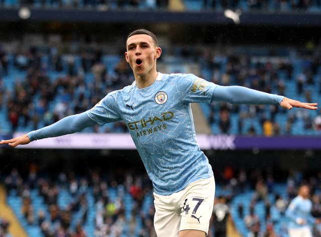 Phil Foden could claim a PFA awards double on Sunday