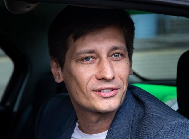 Russian opposition figure Dmitry Gudkov