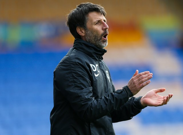 Portsmouth manager Danny Cowley has strengthened the left side of his defence
