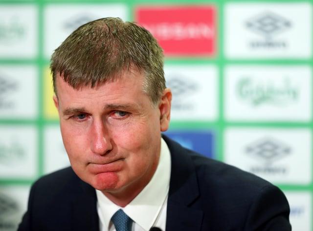 Republic of Ireland manager Stephen Kenny