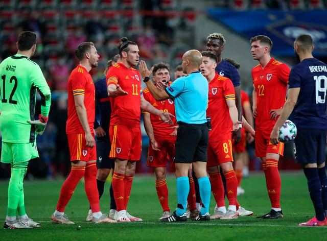 France Wales Soccer