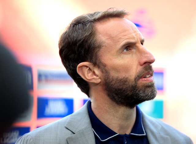 <p>England manager Gareth Southgate was unhappy with the jeering on the taking of the knee before victory over Austria</p>