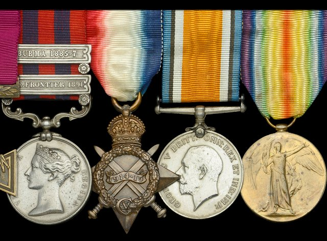 Lieutenant Charles Grant's Victoria Cross group of medals