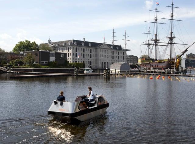 Netherlands Robot Boat