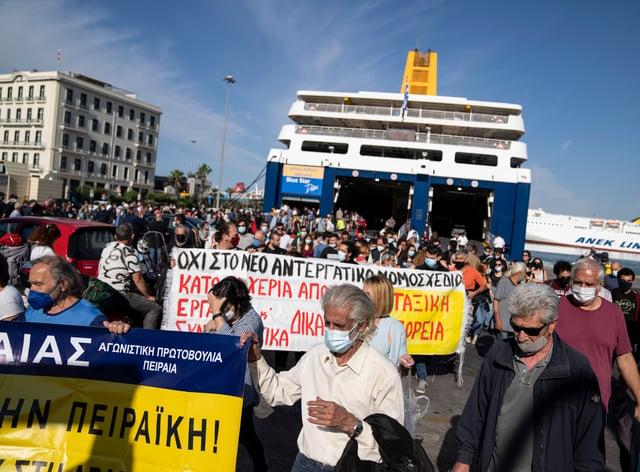 Greece Ferry Strike