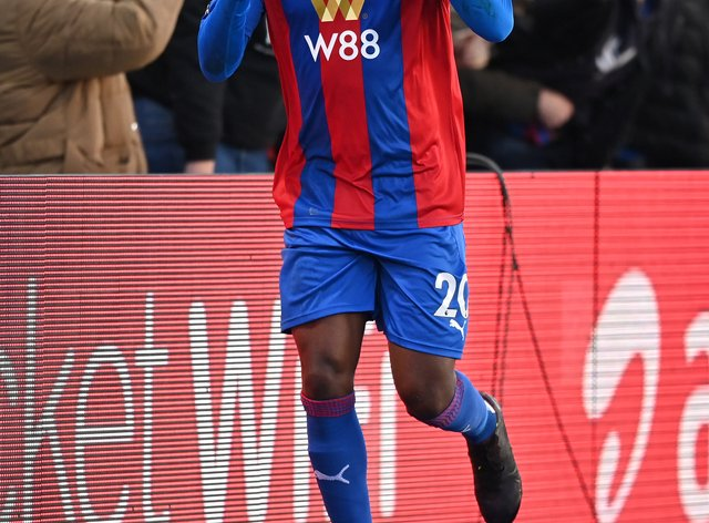 Christian Benteke has been with Crystal Palace for five years
