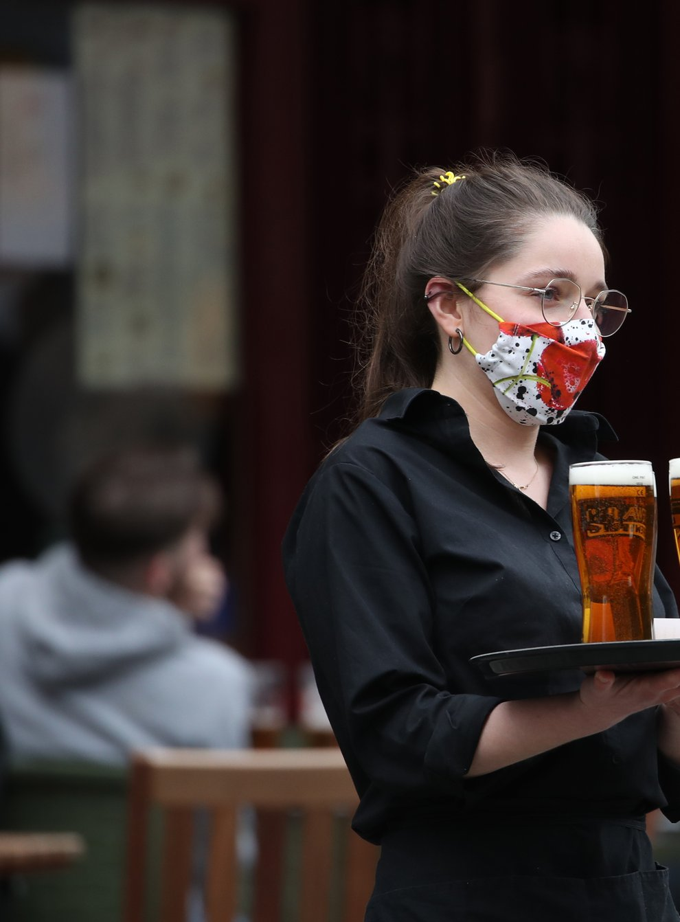 Pub staff returned to work in April as restrictions eased