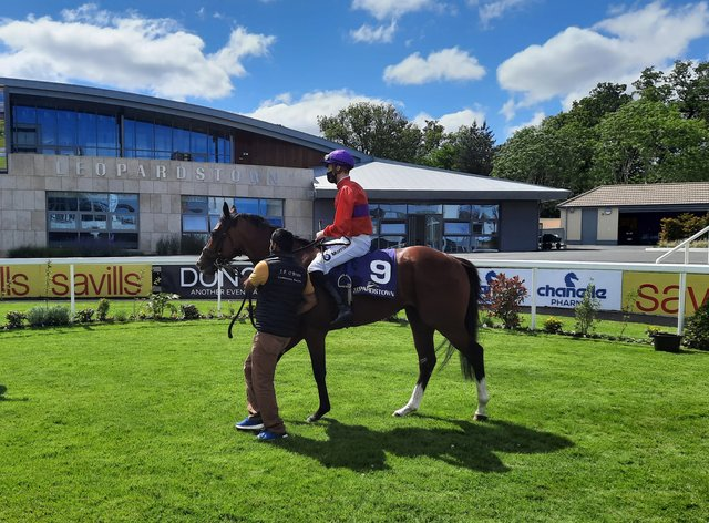 Magnanimous and Shane Crosse return after their victory in the Listed Glencairn Stakes at Leopardstown