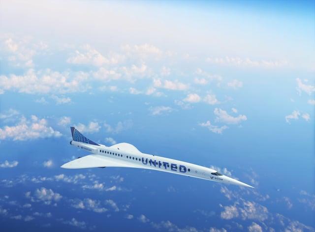 Boom Supersonic's Overture plane