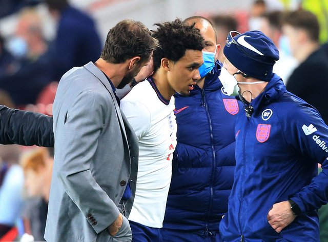 The FA has confirmed Trent Alexander-Arnold will miss Euro 2020